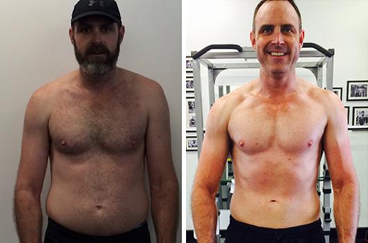 Josh Chambers Body Transformation