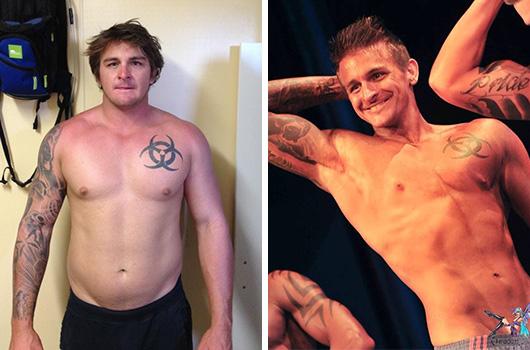 Dean Weiss Body Transformation