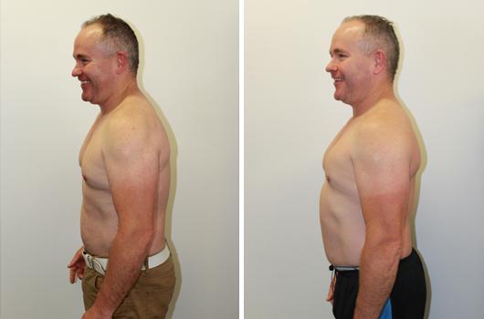 Chris Logan Body Transformation
